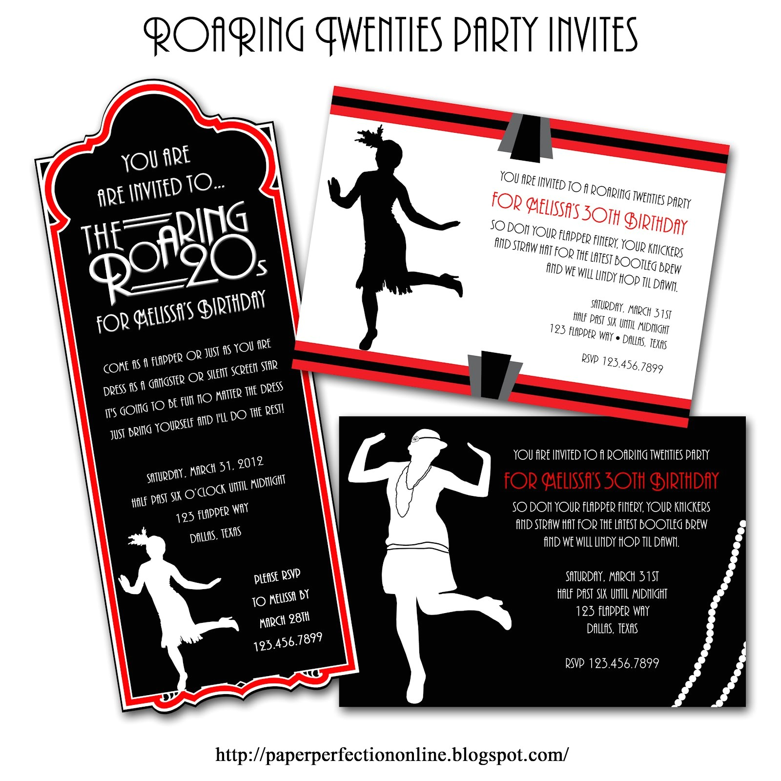1920s Slang for Party Invitations Speakeasy Prohibition theme On Pinterest