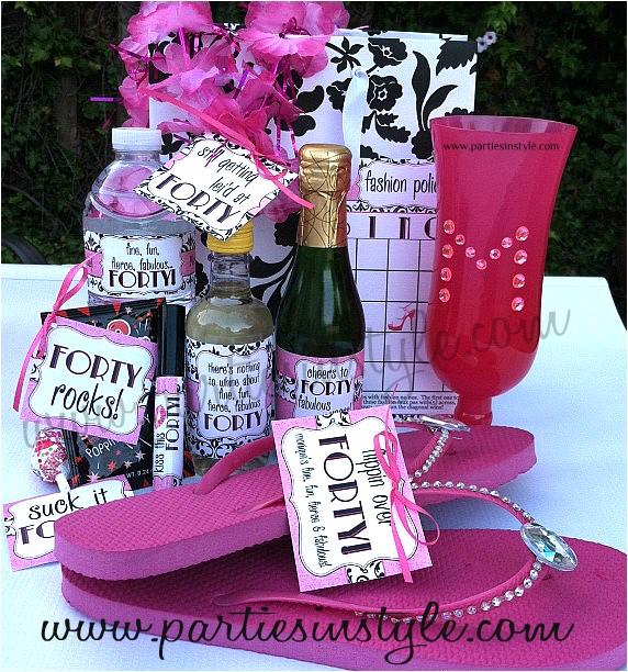 40th Birthday Party Female Adolphe Sax 40th Birthday Party Ideas
