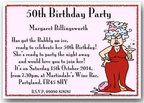 50th Birthday Invitation Ideas Funny Funny 50th Birthday Party Invitation Wording Dolanpedia