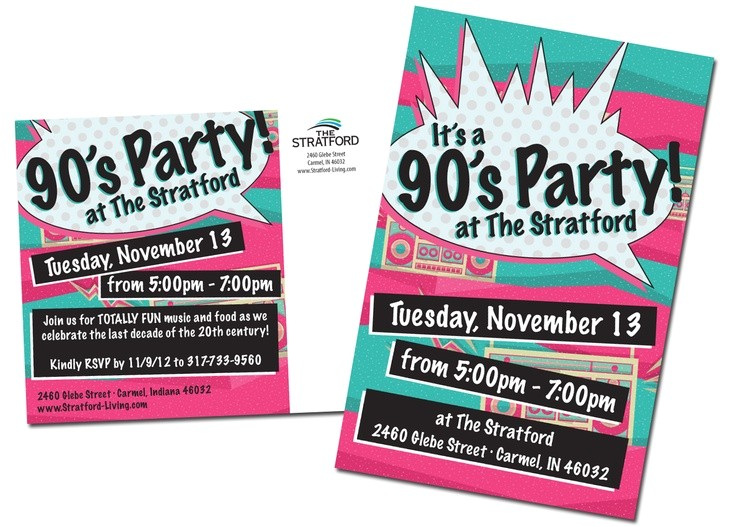 90s Party Invitation Template 90 S Party 90 S themed 21st Birthday Party