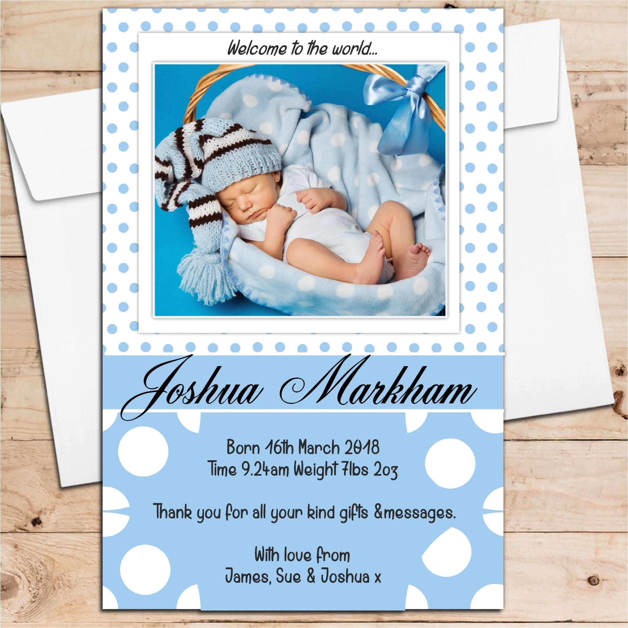 Baby Birth Party Invitation Card Birth Announcement Cards Baby Announcement Cards