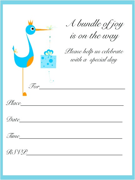 Baby Shower Invitations Printable Templates Printable Baby Shower Invitations Template