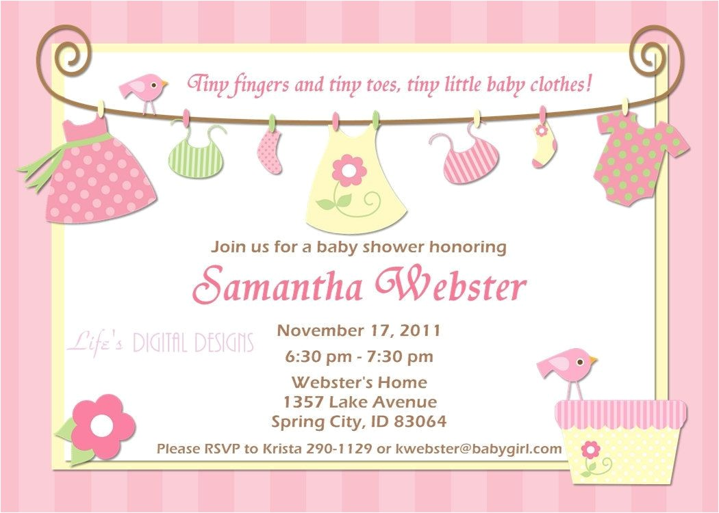 Baby Shower Invits Birthday Invitations Baby Shower Invitations