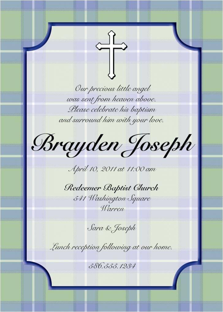 Baptism Invite Wordings Baptism Invitations In Spanish