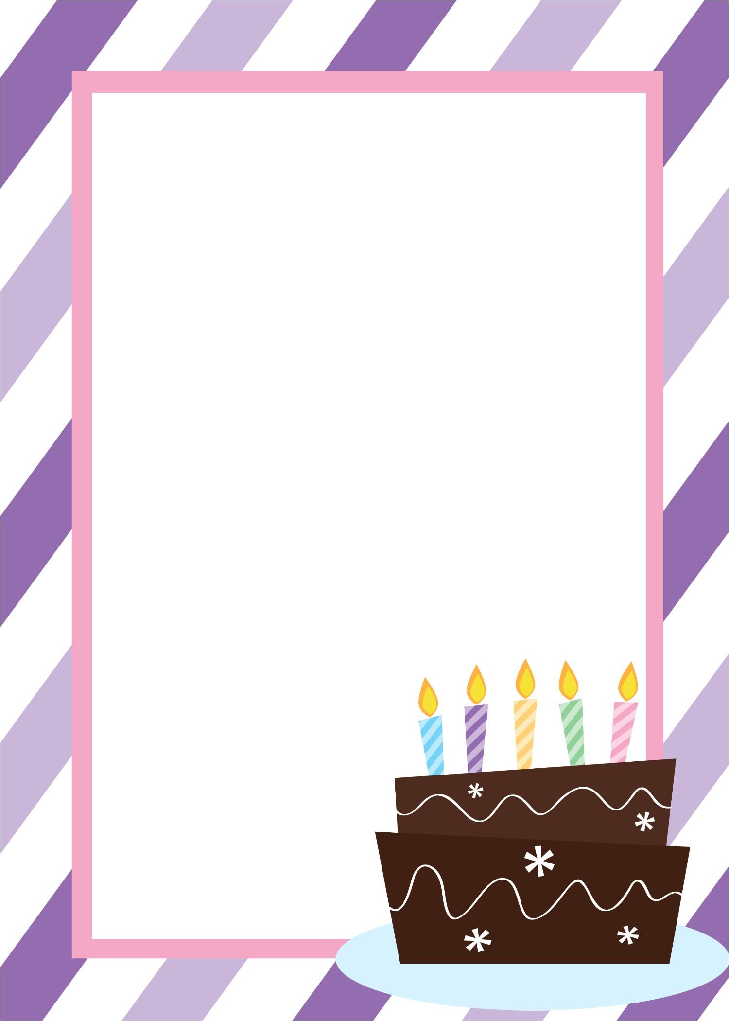 Birthday Party Invitations Templates Free Printable Birthday Invitation Templates