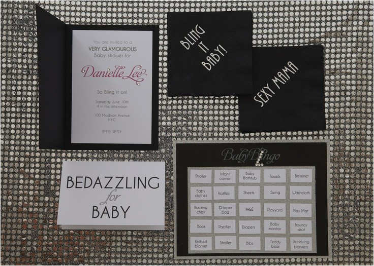 Bling Baby Shower Invitations 18 Best Images About Bling On Baby On Pinterest