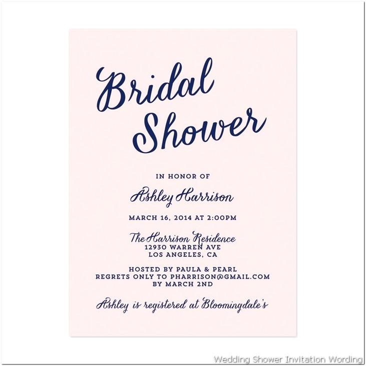 Bridal Shower Invitation Text Bridal Shower Invitation Wording Fotolip Com Rich Image