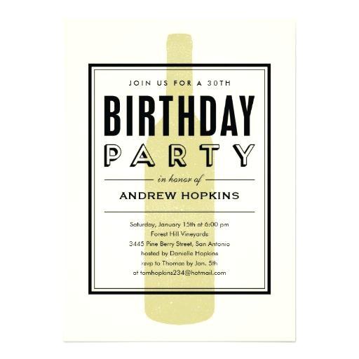 Bring A Bottle Party Invitation Bring A Bottle Party Invitation Wine Bottle Birthday