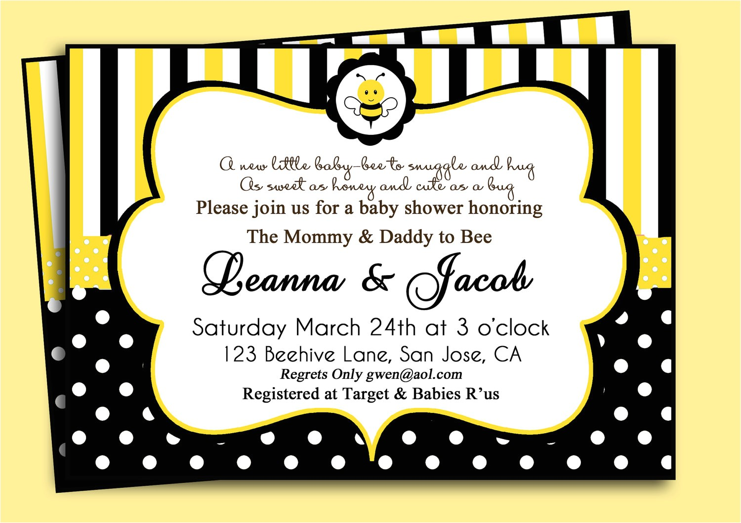 Cheap Bumble Bee Baby Shower Invitations Template Cheap Bumble Bee Baby Shower Invitations Bumble