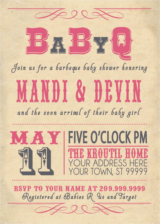 Co-ed Baby Shower Invite Co Ed Baby Shower Invitations
