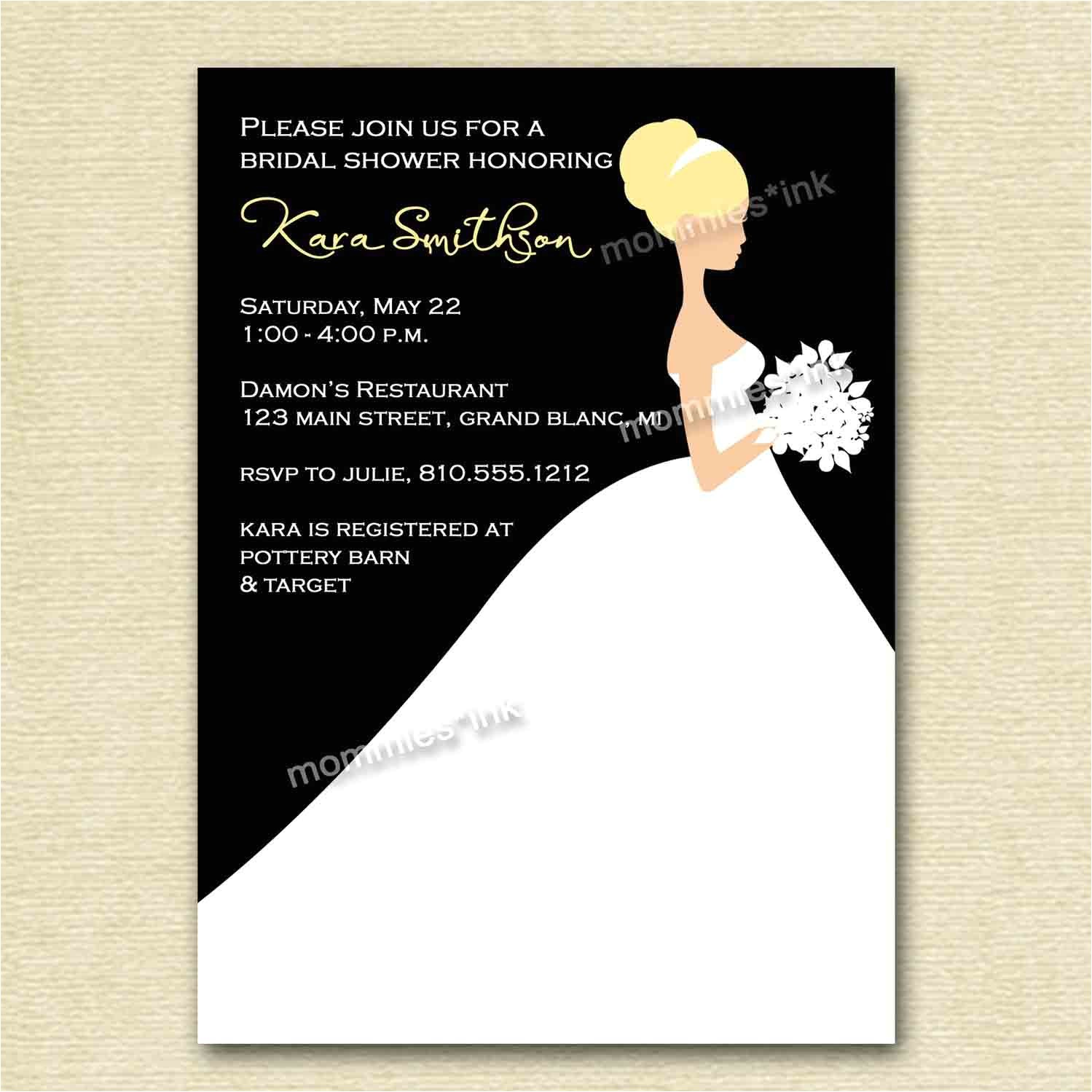Create Your Own Bridal Shower Invitations Bridal Shower Invitations Bridal Shower Invitation Cards