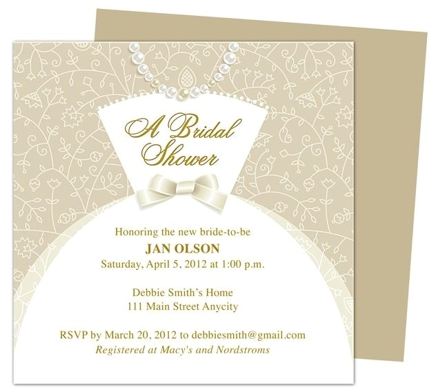 Create Your Own Bridal Shower Invitations How to Make Your Own Wedding Invitations Template Resume