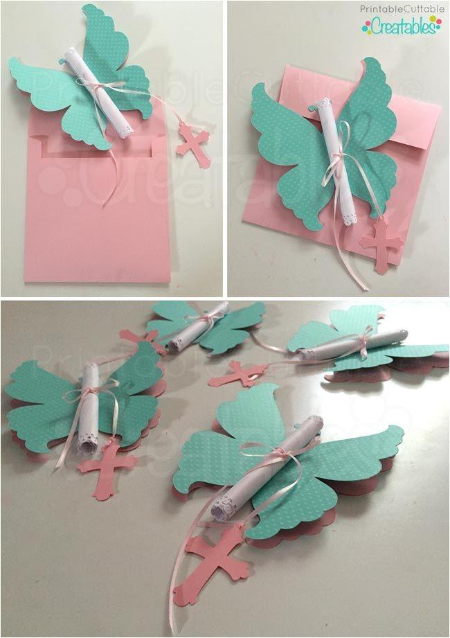 Diy butterfly Birthday Invitations Diy butterfly Invitations Tutorial Svg Cutting Files