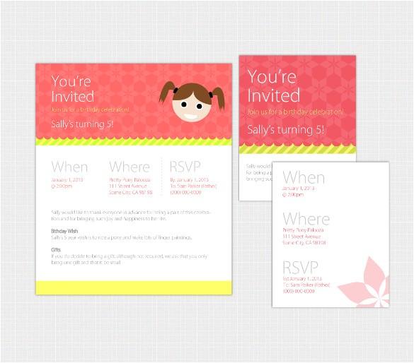 Email Birthday Invitations with Photo 20 Email Birthday Invitation Templates Free Sample