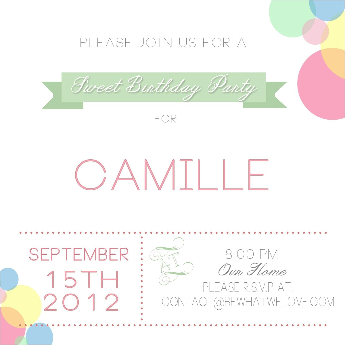 Email Birthday Invitations with Photo Email Party Invitations Gangcraft Net