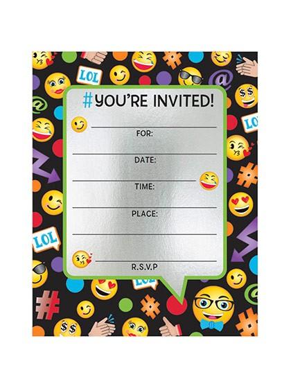 Emoji Birthday Invitations Free Emoji Invitation Template songwol E F96