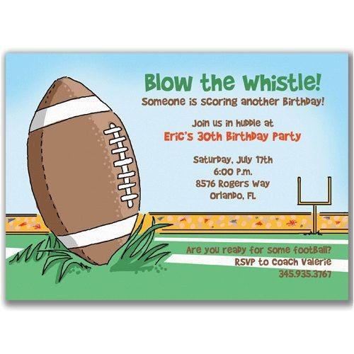 Football themed Party Invitation Wording Football Birthday Party Invitation Wording Http Www