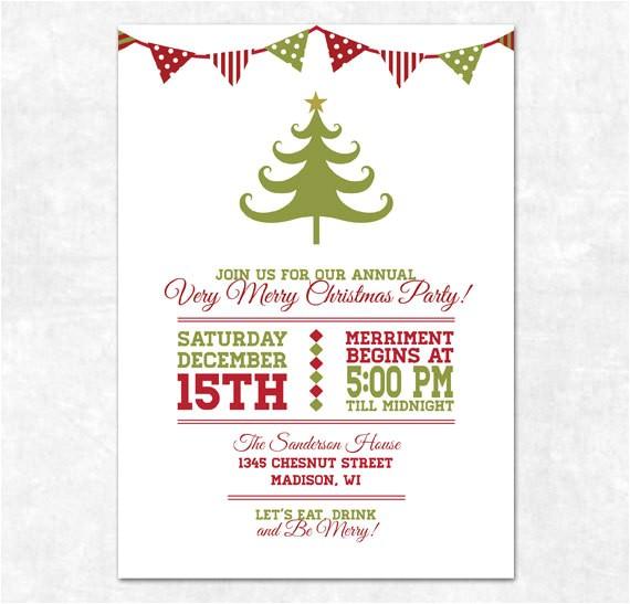 Free Printable Elegant Christmas Party Invitations Party Invitation Templates Free Printable Christmas Party