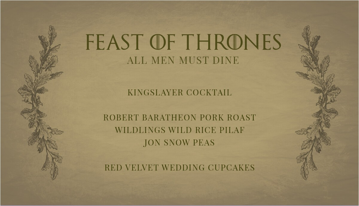 Game Of Thrones Party Invitation Wording Game Of Thrones Party Invitation Cimvitation