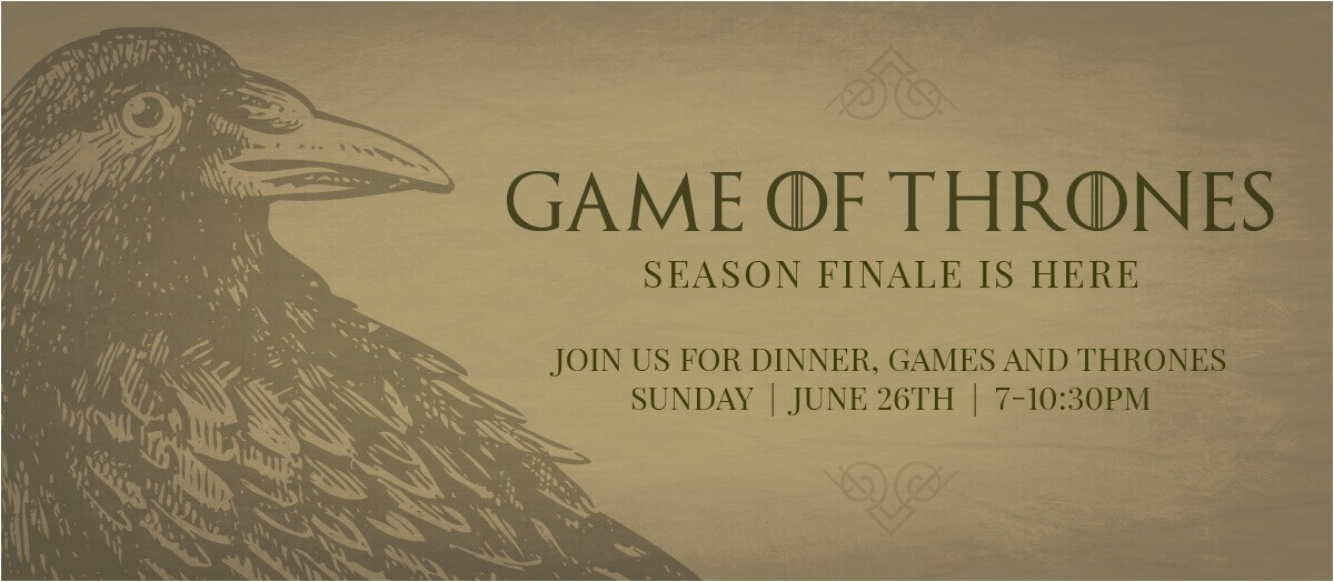 Game Of Thrones Watch Party Invitation Free Printables for Your Game Of Thrones Watch Party