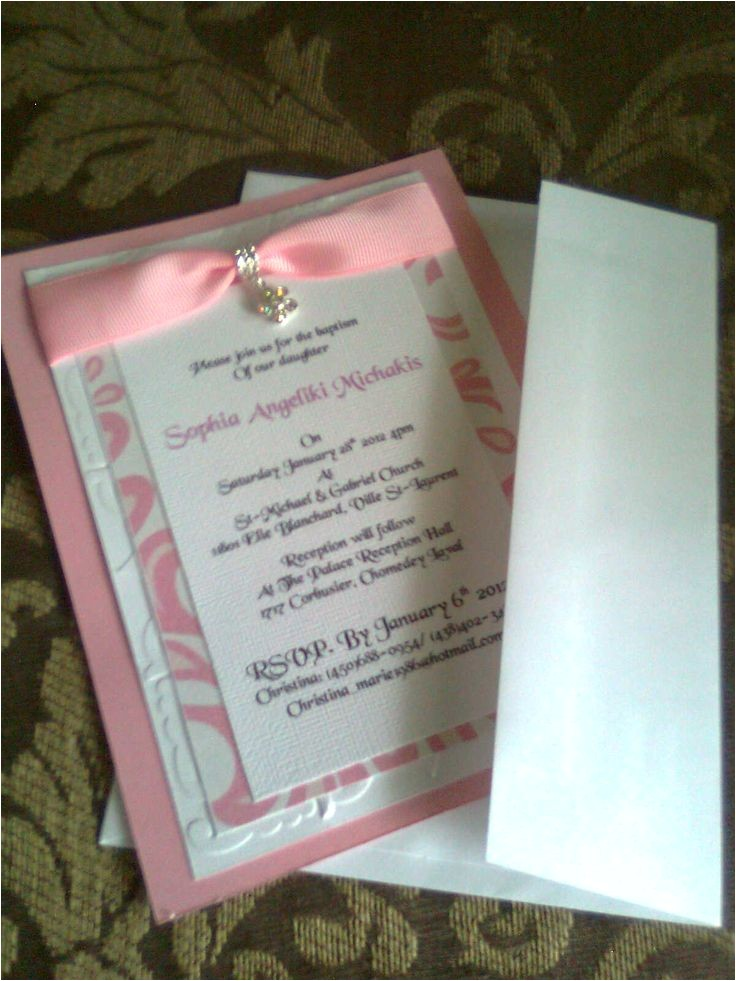 Ideas for Baptism Invitations Baptism Invitation 2