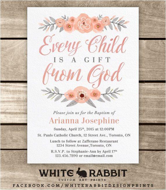 Ideas for Baptism Invitations Best 25 Baptism Invitations Girl Ideas On Pinterest