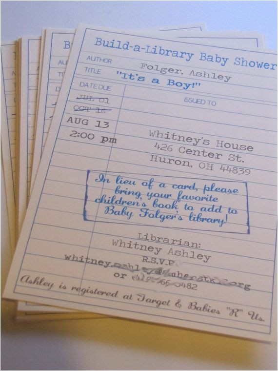 Library themed Baby Shower Invitations 25 Best Ideas About Library Baby Showers On Pinterest