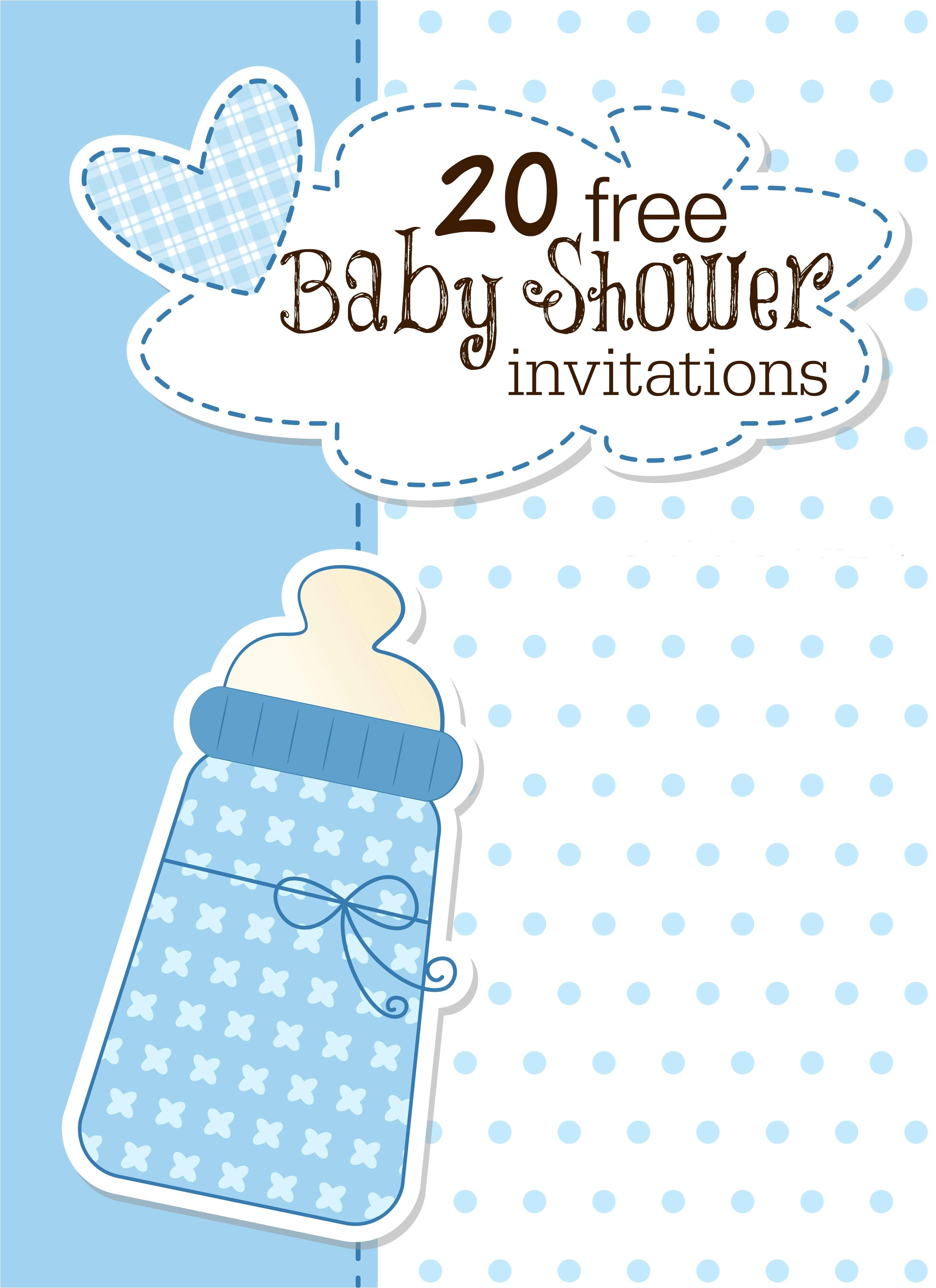 Make Free Baby Shower Invitations Baby Shower Invitations Free Templates