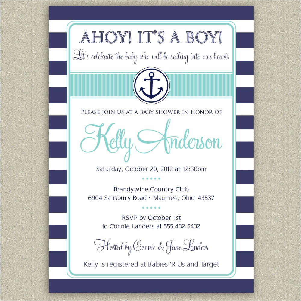 Nautical Baby Shower Invitations Cheap Nautical Baby Shower Invitations Cheap – Invitations Card