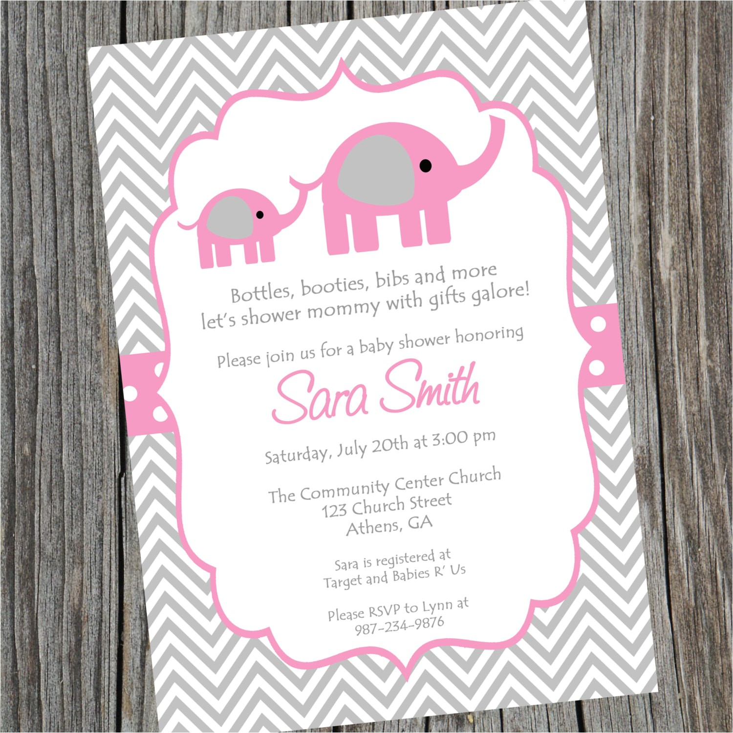Party City Baby Shower Invitations Girl Elephant Baby Shower Invitations Party City – Invitations