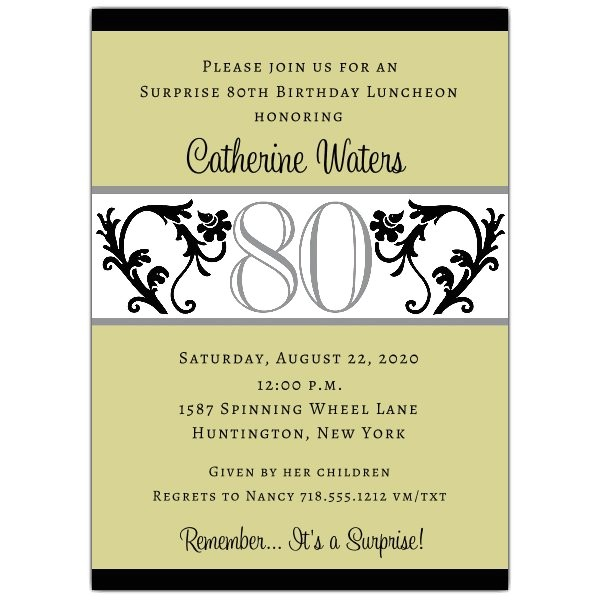 Quotes for Birthday Invitation Quotes for 80th Birthday Invitation Quotesgram