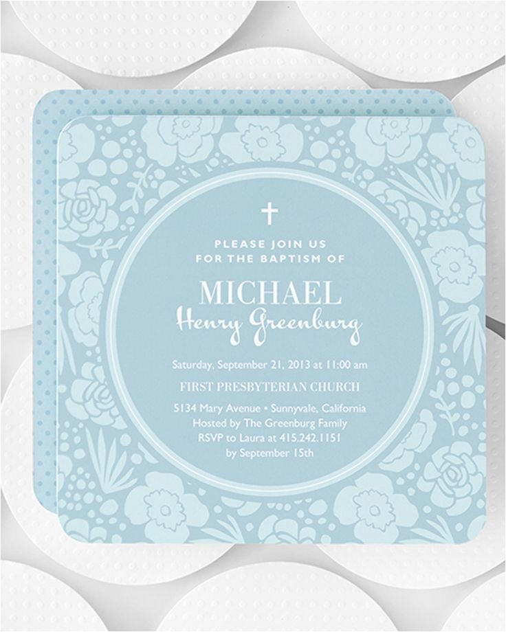 Tiny Prints Baptism Invitations 111 Best Religious Celebrations Images On Pinterest