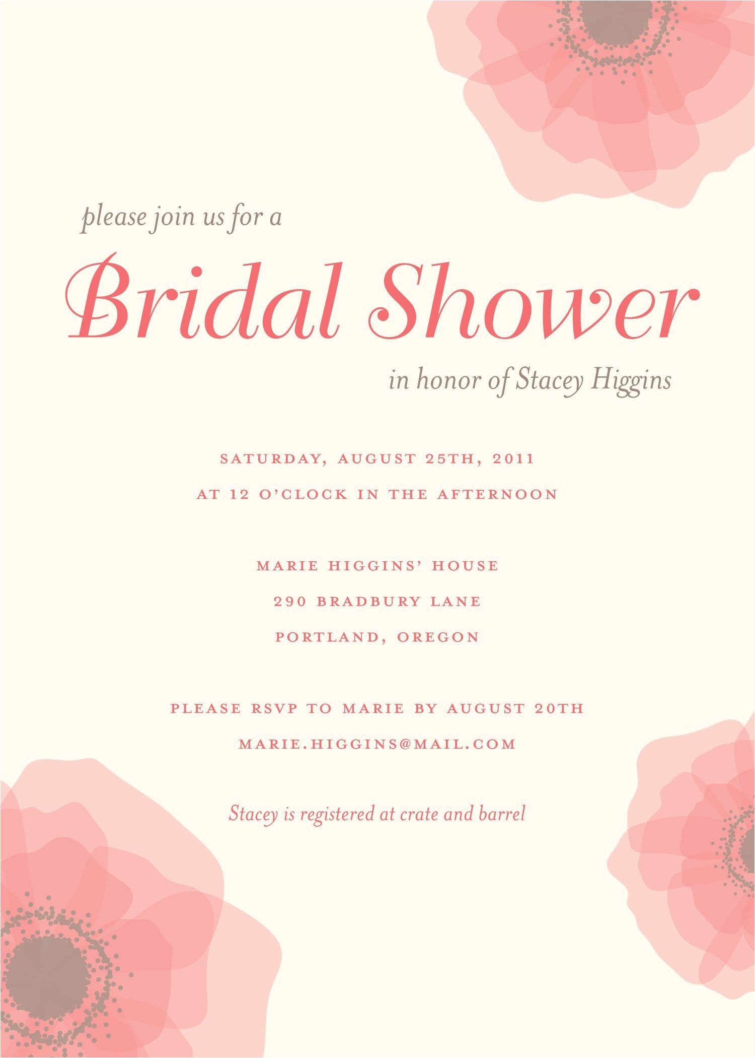 What to Say On Bridal Shower Invitation Inexpensive Bridal Shower Invitations Bridal Shower