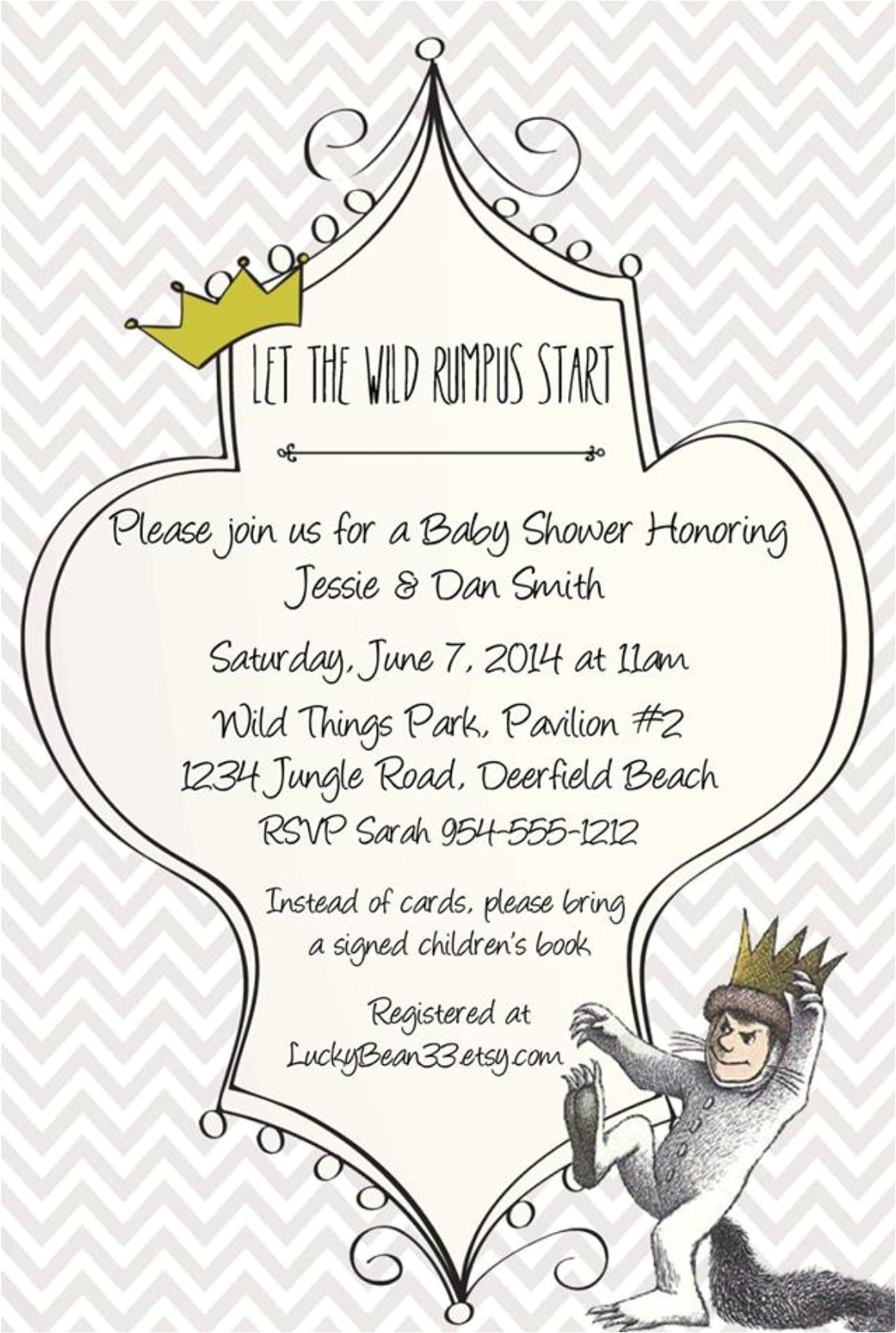 Where the Wild Things are Birthday Invitation Template where the Wild Things are Invitation Template Www