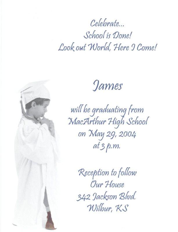 8th Grade Graduation Invitation Wording 1000 Ideas About Graduation Invitation Wording On