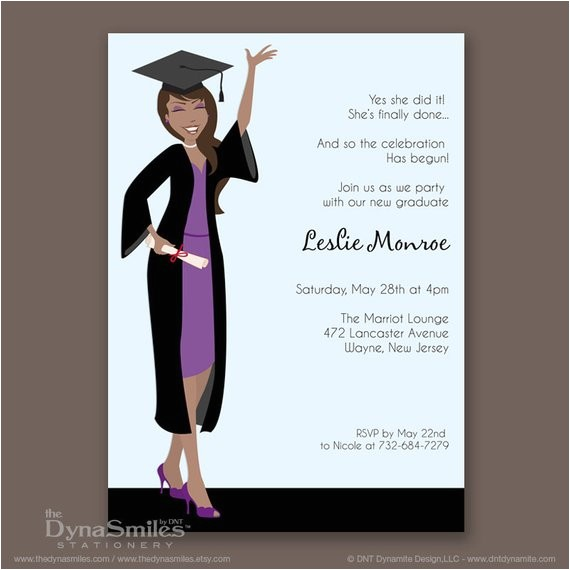 African American Graduation Invitations Unavailable Listing On Etsy