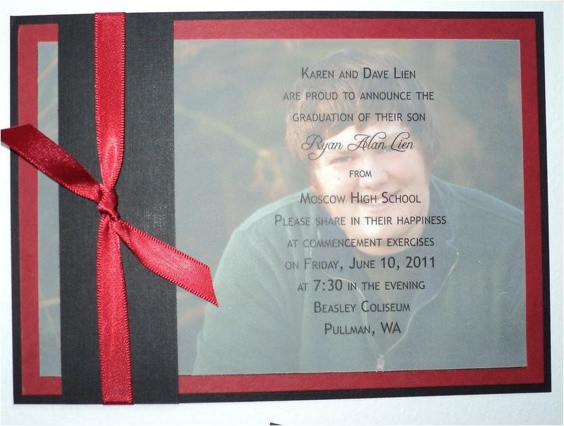 Diy Graduation Invitations Diy High School Graduation Announcements Wedding