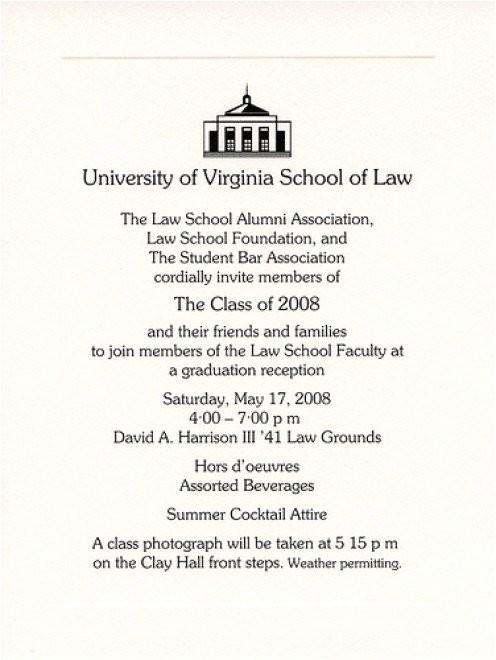 Examples Of College Graduation Invitations Example Of College Graduation Invitation