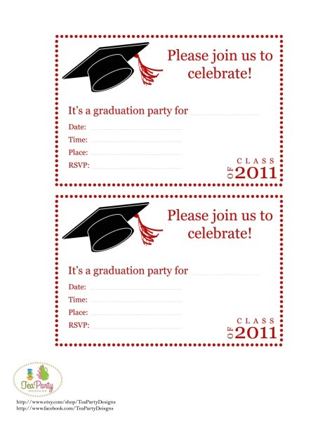 Free Printable Invitations Graduation Fun and Facts with Kids Graduation Diy Party Ideas and