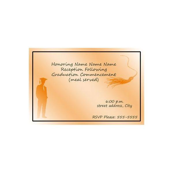 Graduation Invitation Inserts Examples Of Graduation Invitation Inserts