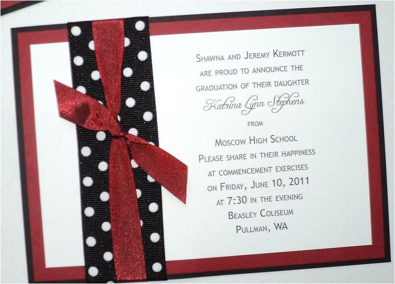 Homemade Graduation Invitations Diy High School Graduation Announcements Wedding