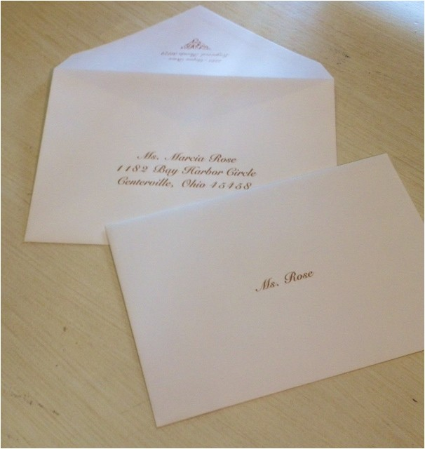 Inner and Outer Envelope Sizes for Wedding Invitations Wedding Invitations Inner and Outer Envelope Sizes Matik
