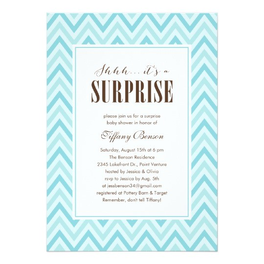 Surprise Baby Shower Invite Surprise Baby Shower Invitations Zazzle Com