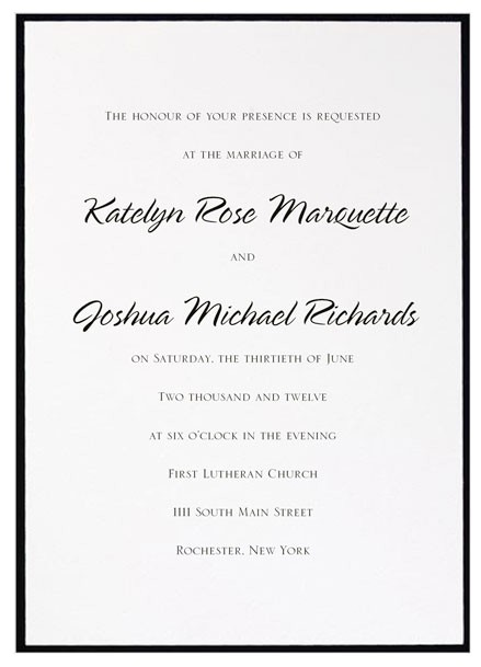 What Do You Say On A Wedding Invitation What Does the Font You Choose for Your Wedding Invitations