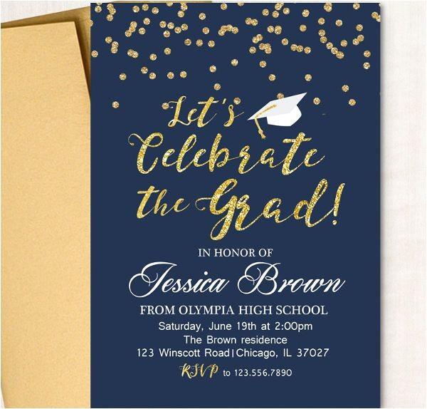 Words for Graduation Invitation 9 Graduation Invitation Wording Jpg Vector Eps Ai