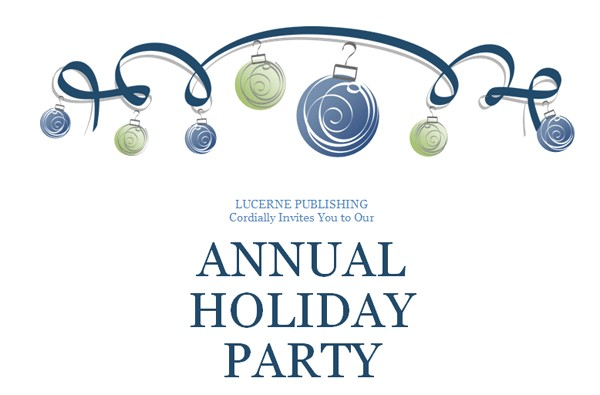 Annual Holiday Party Invitation Template Annual Holiday Party Invitation