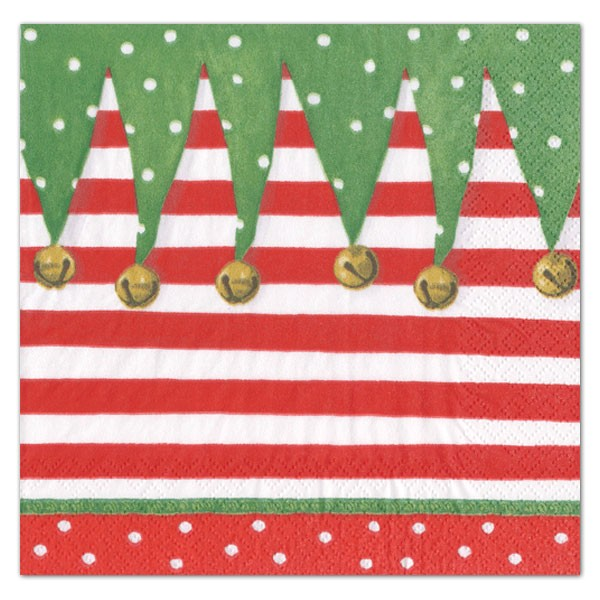 Caspari Christmas Party Invitations Caspari Stocking Stripe Place Cards Paperstyle
