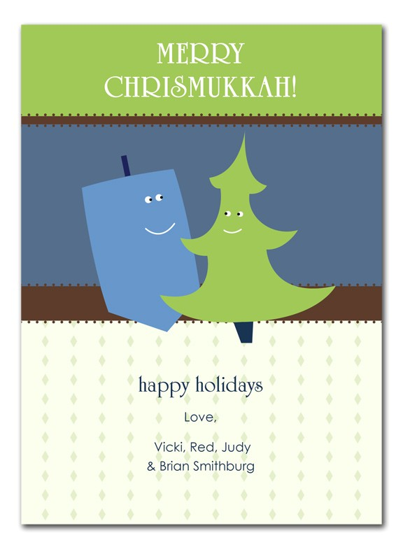 Chrismukkah Party Invitations Chrismukkah Holiday Cards by Invitation Consultants Ic