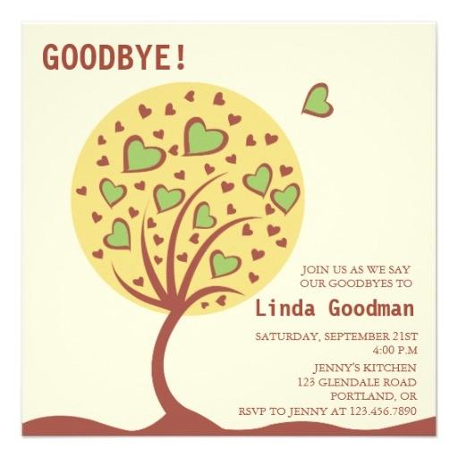 Leaving Job Party Invitation Job Quotes Farewell Invitation Quotesgram