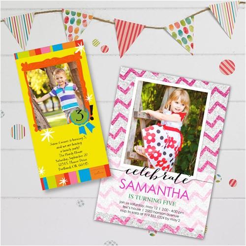 Walmart Party Invitations Photo Birthday Invites Funny and Cute Design Walmart Birthday